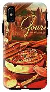 Gourmet Cover Featuring A Pot Of Stew IPhone X Tough Case