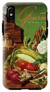 Gourmet Cover Featuring A Variety Of Vegetables IPhone X Tough Case