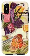 Gourmet Cover Featuring Sweetbread And Asparagus IPhone X Tough Case