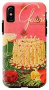 Gourmet Cover Illustration Of A Molded Rice IPhone X Tough Case