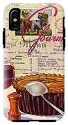 Gourmet Cover Illustration Of Deep Dish Pie IPhone X Tough Case