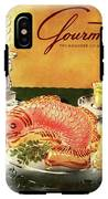 Gourmet Cover Illustration Of Salmon Mousse IPhone X Tough Case