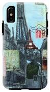 Grand Ole Paris-postcard From Paris IPhone X Tough Case