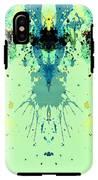 Green Alien IPhone X Tough Case