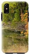 Green Ash In Autumn Foliage IPhone X Tough Case