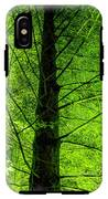 Green On Green IPhone X Tough Case