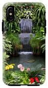Greenhouse Garden Waterfall IPhone X Tough Case