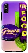 Grove Fine Food Var 2 IPhone X Tough Case