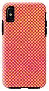 Grunge Halftone Background. Halftone IPhone X Tough Case