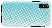 Halftone Background, Pop Art Design IPhone X Tough Case