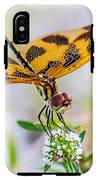 Halloween Banner Dragonfly IPhone X Tough Case