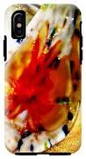 Hand Blown Glass Pendant IPhone X Tough Case