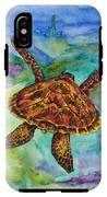 Hawaiian Sea Turtle IPhone X Tough Case