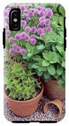 Herbs In Pots IPhone X Tough Case