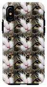 Here Kitty Kitty Close Up 25 IPhone X Tough Case