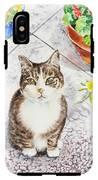 Here Kitty Kitty Kitty IPhone X Tough Case