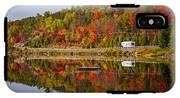 Highway Through Fall Forest IPhone X Tough Case