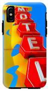 Hilander Motel IPhone X Tough Case