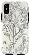 Historical Art Of Coca Plant IPhone X Tough Case