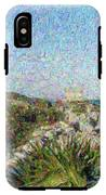 Homage To Vincent Had He Only Seen Cozumel II IPhone X Tough Case