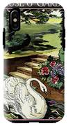 House & Garden Cover Illustration Of A Swan IPhone X Tough Case