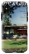 House & Garden Cover Of The Kurt Appert House IPhone X Tough Case