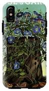 House And Garden Cover Featuring Flowers Growing IPhone X Tough Case