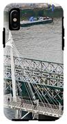 Hungerford Bridge IPhone X Tough Case
