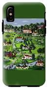 Illustration Of A Village IPhone X Tough Case