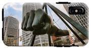 In Your Face -  Joe Louis Fist Statue - Detroit Michigan IPhone X Tough Case