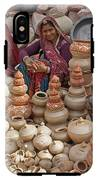 Indian Women Selling Pottery IPhone X Tough Case