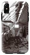 Inside Storage Building Sepia 2 IPhone X Tough Case