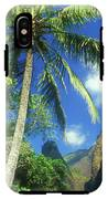 Io Valley Palm And Needle Maui Hawaii IPhone X / XS Tough Case