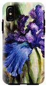 Iris In Bloom 2 IPhone X Tough Case