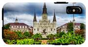 Jackson Square New Orleans IPhone X Tough Case