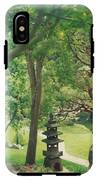 Japanese Garden IPhone X Tough Case