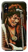 Jimi Hendrix Painting IPhone X Tough Case