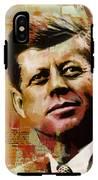 John F. Kennedy IPhone X Tough Case