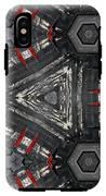 Kaleidoscope In Black IPhone X Tough Case