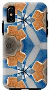 Kaleidoscope In Blue And Orange IPhone X Tough Case