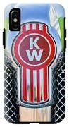 Kenworth Truck Emblem -1196c IPhone X Tough Case