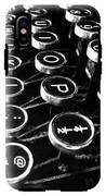 Key Strokes  IPhone X Tough Case