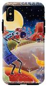 Kokopelli Sings Up The Moon IPhone X Tough Case