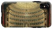 La Scala, Milan, During A Performance IPhone X Tough Case