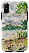 Lake IPhone X Tough Case