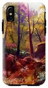 Landscape Painting Of Beautiful Autumn IPhone X Tough Case