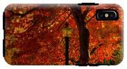 Lantern In Autumn IPhone X Tough Case