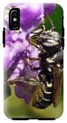 Leaf Cutter Bee IPhone X Tough Case