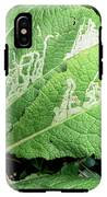Leaf Miner On Primrose IPhone X Tough Case