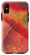 Leaf Pattern_1 IPhone X Tough Case